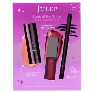 NWT Julep: Stars of the Show 3pc Best Seller Box